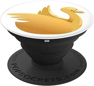 Golden 鹅卵形棒插座 - ClubRGA - PopSockets 手机和平板电脑握架260027  黑色