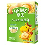 Heinz亨氏优加营养鸡蛋面条252g