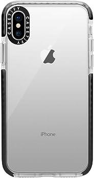 Casetify 手机壳,*级双层防震保护壳,适用于 iPhone、iPhone Xs,黑色
