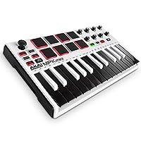 Akai Professional USB MIDIキーボードコントローラー 8パッド MPK mini MK2 WHITE【数量限定品】