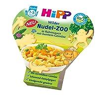HiPP 喜宝 彩蔬奶油酱面条(动物形状) 动物园系列6盒装(6 x 250克)