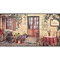Comfort Chef 优质抗*厨房垫,53.34 厘米 x 99.06 厘米,商业品质舒适垫,适合水槽、炉灶或洗衣房,美国制造 Sunflower Village
