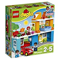 LEGO 乐高  拼插类 玩具  DUPLO 得宝系列 温馨家庭 10835 2-5岁 婴幼