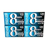 Maxell 8mm GX-MP 120 录像带 (4-pack)