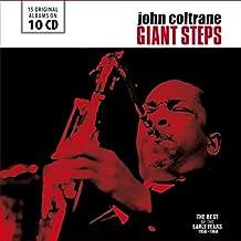 进口CD:爵士萨克管大师约翰·科特兰经典录音合集 Giant Steps:The Best of the Early Years (Original Albums)(10CD)600136