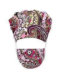 Wellhose 中性工作帽可调节后系带工作帽带吸汗带女士/男士均码多色