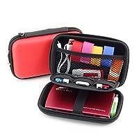 保护性硬壳*旅行箱测试用品套件收纳袋适用于葡萄糖仪/测试条/滑水设备/棒糖/*监测系统/硬盘 S