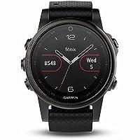 GARMIN 佳明 fenix5S 蓝宝石镜面国行英文版 多功能光电心率GPS手表 运动户外登山骑行游泳跑步智能腕表(表盘尺寸 1.1英寸,42mm)