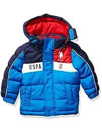 U.S. Polo Assn. 男童幼儿泡泡夹克(更多款式可选)