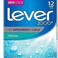 Lever 2000 香皂,原版,4 盎司,12 塊