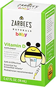 Zarbee's Naturals 包包益生菌补充剂 Vitamin D 400 IU