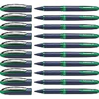 Schneider 施耐德 One Business 中性笔,10支装,液体墨水,不可换芯 绿色