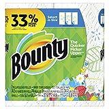 Bounty(百钱蒂) 纸巾 选择尺寸 印花 2卷(74剪裁)