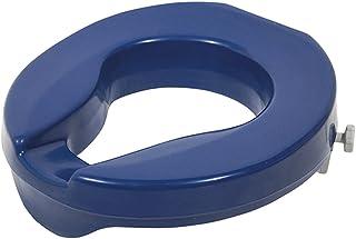 Aidapt Ashby Raised 马桶坐垫,蓝色,2 英寸