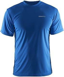 Craft 男式运动服 Prime T 恤轻便运动 T 恤带水分运输 Ct086/199205 SWE.蓝色 L 码