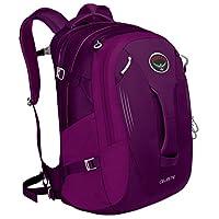Osprey 女式 天琴 Celeste 29 紫色 均码 双肩背包 户外旅行耐用徒步城市日用背包电脑包放15寸笔记本防泼水 三年质保终身维修(两种LOGO随机发)【城市系列】