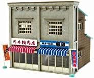 Sankei 1/150比例 復古的透視景觀立體模型系列 商店F 紙制工藝品 MP03-83