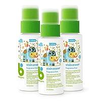 Babyganics强力衣物去渍擦//去污剂,20盎司,随身装(3件套),包装和图片有差异。