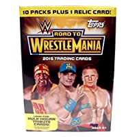 Topps WWE 2015 Road to Wrestlemania 超值盒,黑色