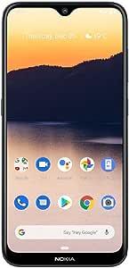 Nokia 2.3 6.2 英寸 Android UK 免提智能手机,2GB RAM 和 32GB 存储(双 SIM 卡) 炭黑色