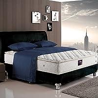金可儿 偏软弹簧床垫 双面席梦思1.8*2m 艾美酒店套房 宝蓝(供应商直送)