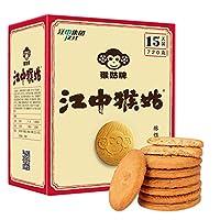 江中 猴姑酥性饼干720g(15天用量装) 新老包装交替中