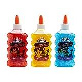 Elmer's Washable Glitter Glue, 6 oz. Bottles, 3-Pack