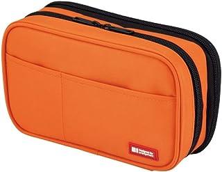 LIHITLAB 笔盒 [ 书本式 ] A7551 橙/ダブル