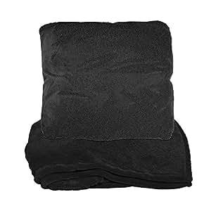 Natico 拉链式枕头毯 黑色 60-255-BK