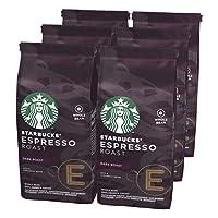 STARBUCKS 星巴克 Espresso Roast 深度烘培 全豆咖啡豆,(6 x 200g)