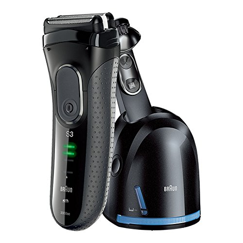BRAUN 博朗 德国新3050CC电动剃须刀(自带清洁中心 自由浮动 带梳子须刀 ) 加赠NBA耳机仅限一天