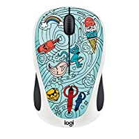 Logitech M238 涂鸦系列无线鼠标 Windows/Mac/Chrome OS/Linux910-005055