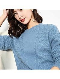 唐岚 新款羊毛衫女毛衣短款宽松显瘦针织衫麻花圆领针织打底衫