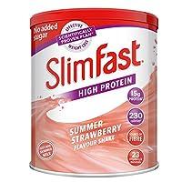 Slimfast 瘦身奶昔 草莓味438g(英国品牌)