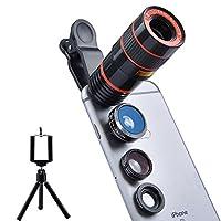 apexel 通用专业高清摄像机镜头套装
