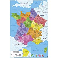 Grupo Erik Editor,海报 Carte de France 2017