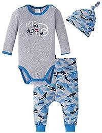 Schiesser 儿童内衣套装,3 件装