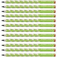 STABILO 手写笔-EASYgraph HB 绿色右手盒,12支
