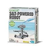 4M 环保科学系列 STEM科学益智玩具 盐动机器人