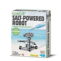 4M 环保科学系列 盐动机器人 科学探索益智教育玩具 进口
