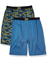 Calvin Klein 男童棉质睡衣短裤,2 件装