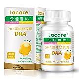乐佳善优DHA藻油软胶囊60粒 美国原装进口