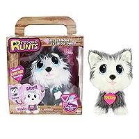 Rescue Runts 收藏版长耳朵 Husky 白色/灰色