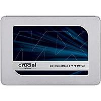 Crucial MX500 CT1000MX500SSD1(Z)1 TB 内置固态硬盘(3D NAND,SATA,2.5英寸)