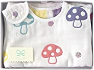 Hoppetta champignon 6層紗布嬰兒睡袋 7225 champignon ベビーサイズ