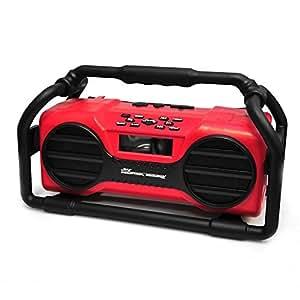 Pyle Industrial BoomBoX 防溅重型蓝牙音箱 (PJSR350OR) PJSR350RD