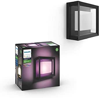 Philips 飞利浦 Hue White and Color Ambiance LED 壁灯 黑色 915005731901