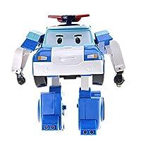 Silverlit 银辉 POLI系列 儿童汽车玩具人偶模型 珀利变形机器人(可变形)SVPOLI83171STD