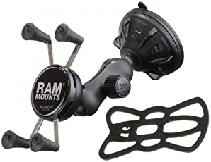 RAM MOUNT 柱式安装 车载 X把手 智能手机支架 迷你 悬浮安装 RAP-B-166-2-UN7 ARAP-B166-27C
