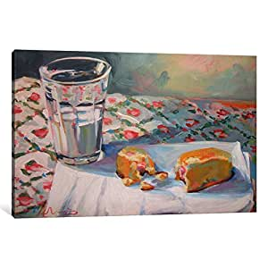 "iCanvasART 1 Piece Milk And Twinkie Canvas Print by Hillary White, 40 by 26""/1.5"" Deep"